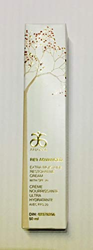 RE9 Advanced Extra Moisture Restorative Day Creme Broad Spectrum SPF 20 Sunscreen.