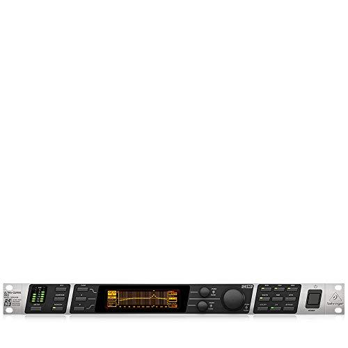 Behringer Ultracurve Pro DEQ2496 Ultra-High Precision 24-Bit/96 kHz Equalizer, Analyzer, Feedback Destroyer and Mastering Processor