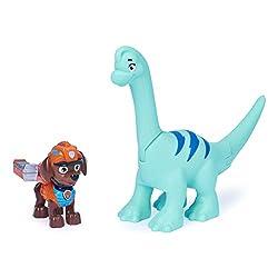 6. Paw Patrol Dino Rescue Zuma and Brontosaurus