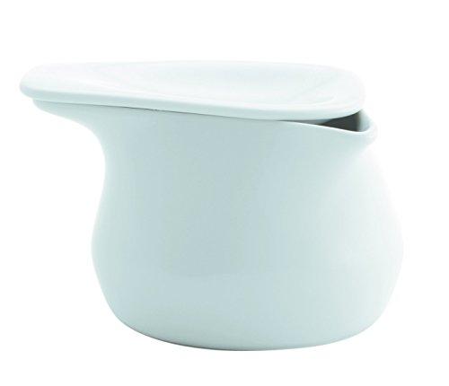 Kahla Zuckerdose, Porzellan/Keramik, Weiß