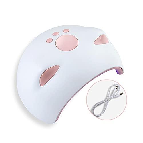 Lampen voor gelnagels, 60W sneldrogende nageldroger Gellak die UV-licht uithardt met 3 timers, perfect voor vingernagel- en teennagellak thuis en in de salon