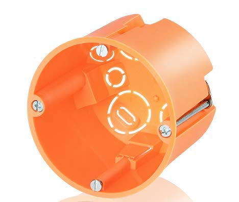Hohlwand Geräte - Verbindungsdose 61mm tief Durchmesser 68mm (10 Stück)
