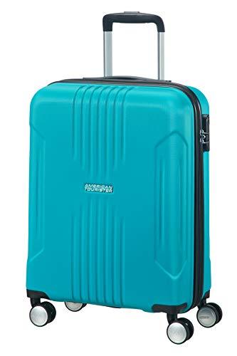 American Tourister 88742-1809 - Bolsa de Viaje, 34 L, 4 Rueda(s), Cremallera, Color Azul