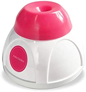 Fristaden Liquid Vortex Mixer for Nail Salons, Painters, Tattoo Artists and Hobbyists | Mix up to 50mL in Under 5 Seconds | Powerful 4000 RPM Mini Shaker | Pink Color | 1 Year Warranty