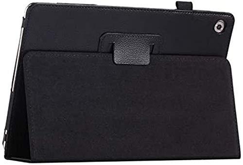 Accesorios De Pestañas para Huawei MediApad M5 Lite 10 10.1'Bah2-W19 / L09 / W09, Stand PU CUBIERTE CUBIERTE Tablet Funda para MediaPAD M5 Lite 10.1 (Color : Black)