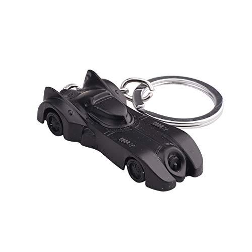 RainSound Metal Batman the dark knight Batmobile Car Movable Keychain