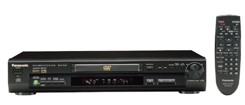Read About Panasonic DVD-RV31K DVD Player, Black