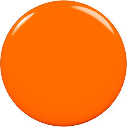 Bright orange nails _image0