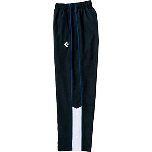 [コンバース] バスケットボール パンツ ウォームアップパンツ(裾ボタン) 撥水 透湿 CB162502P ブラック/ホワイト 日本 S (日本サイズS相当)