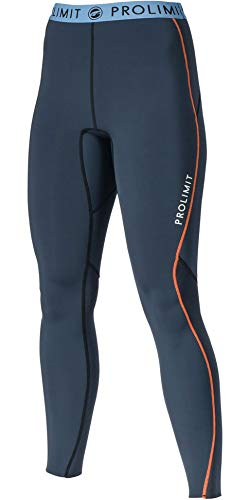 Prolimit dames 2mm Airmax neopreen wetsuit SUP Stand Up Paddle Boarding broek leisteen oranje 84740