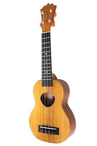 【KoAloha】KSM-00 コアロハ ソプラノ ウクレレ(ハワイアンコア材単板 ハワイ産 ケース付) ブラウン