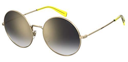 Levi's LV 1011/S Gafas, Oro, 55 para Mujer