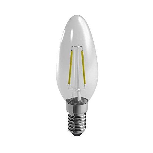 Duracell LED-lamp E14 met gloeidraden 2,4 W vervangt 25 W warm wit