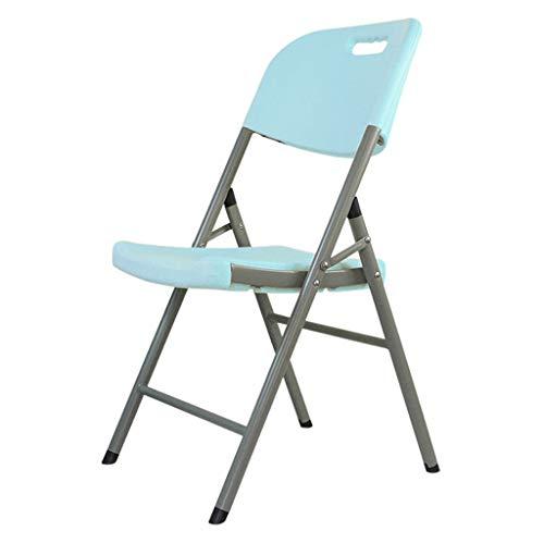 Lxn Chaise de Salle à Manger en Plastique Pliable de Loisirs Simples, Chaises Portables sans Bras, Salle à Manger, Cuisine, Salle de réunion, Bureau, Chaise d'ordinateur - 1pcs