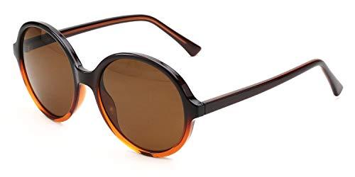 Klassische Sonnenbrille Damen & Herren, leichter Kunststoffrahmen, inkl. Vorteilscode für Gläser in Sehstärke (Gleitsicht/Einstärke) - Modell 19221P-310