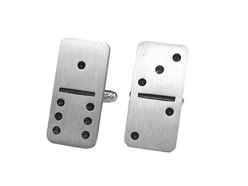 Miniblings Domino Gemelos Botones + Caja del Juego Piedra Domino