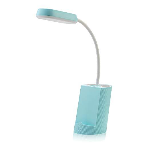 Lámpara De Mesa Plegable De Lectura, Protección Ocular LED Regulable, Tubo De...