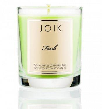 Joik - Duftkerze aus Sojawachs - Fresh