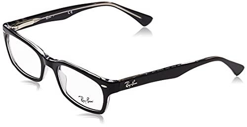 Ray-Ban Women's 0RX 5150 2034 50 Optical Frames, Bl