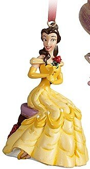Disney Edición limitada 2011 Princesa Belle Navidad Ornamento Store