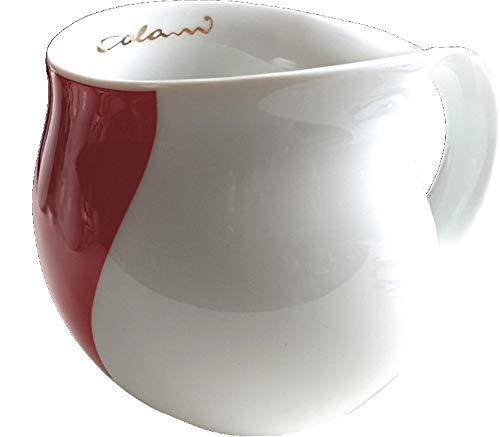 Gold&Color Luigi Colani dekorierte Kaffeetasse Becher Tasse Cappuccinotasse Kaffeebecher Arrow Rot 280 ml
