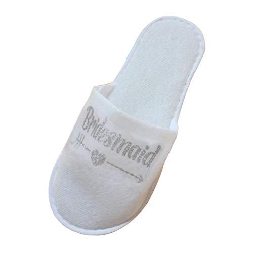 Bonarty Zapatillas de Banquete de Boda Zapatillas Zapatillas de Hotel Zapatillas de...