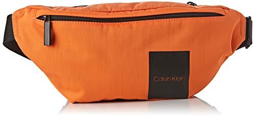Calvin Klein Herren Item Story Waist Bag Schultertasche, Orange (Orange Peel), 15x1x37 cm