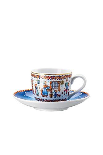 Hutschenreuther Sammelkollektion 20 Weihnachtsbäckerei Espressotasse 2-TLG. 02476-727321-14715