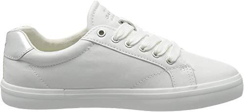 GANT Footwear Damen SEAVILLE Sneaker, Weiß (Bright Wht./Silver G291), 38 EU