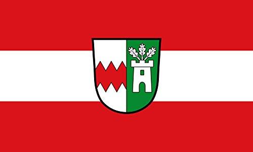 Unbekannt magFlags Tisch-Fahne/Tisch-Flagge: Ernsgaden 15x25cm inkl. Tisch-Ständer
