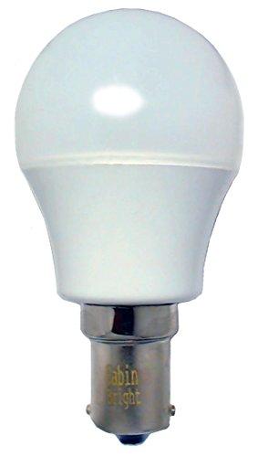Cabina brillantes 1141tocador tocador bombilla (20–99/1141/1156Base–300lúmenes–10–30V AC/DC), luz color blanco cálido)