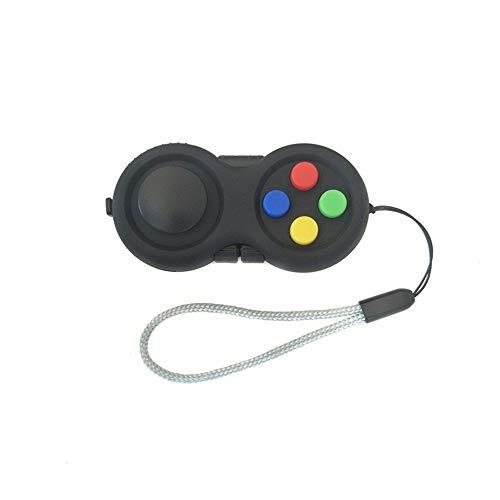 Fidget Pad perfeito para a coleta da pele, ansiedade e alívio do estresse, joystick para crianças, adultos, alívio do estresse e anti-ansiedade, brinquedos sensoriais para as mãos para meninos e meninas, TDAH, adicionar OCD
