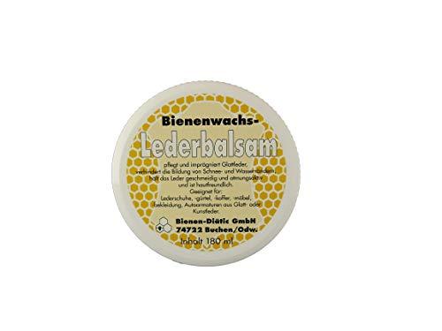 Bienenwachs Lederbalsam Lederpflege 180 ml Geeignet für: Lederschuhe, gürtel, Koffer, möbel, Bekleidung, Autoarmaturen aus Glatt- oder Kunstleder.