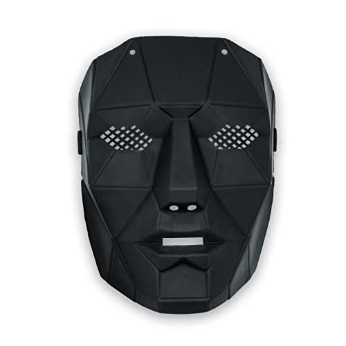 EX EUROXANTY Máscaras personajes Juego del Calamar | Disfraz Juego del Calamar | Máscara con perforación para ojos |Diferentes Personajes para Elegir tu Favorito | Master