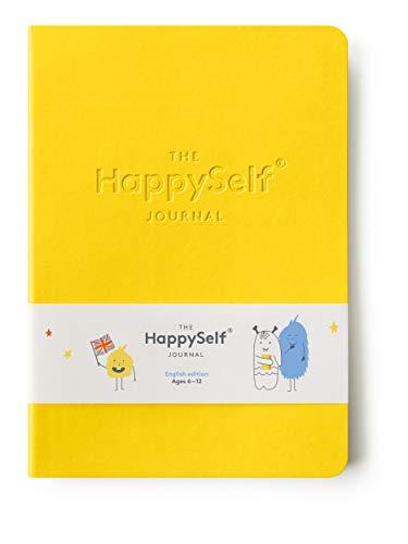 Het HappySelf Journal - Een dagblad voor kinderen leeftijd 6-12 om geluk te bevorderen, het ontwikkelen van positieve gewoonten en voeding vragen van gedachten - 3 Maanden van Journaling op basis van wetenschappelijk bewezen methoden