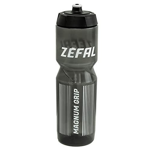 ZEFAL Magnum 1L Bidon grande-couvercle vissable Mixte Adulte, Noir, 1L