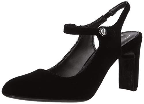 Calvin Klein Women's Omaha Pump, Black Velvet, 10 M M US