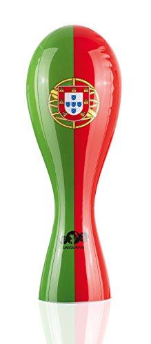 UniqueFan NEU Aufblasbarer Plastik Pokal Portugal 52cm Fan-Spaß für Weltmeister & Pokaljäger! Einzigartiger Fan-Artikel für Fußballstadion, Public Viewing und Fan-Deko Russland 2018