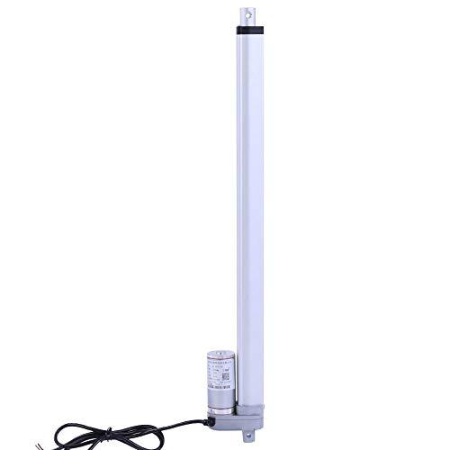 12V Linearaktuator Kraft 1500N Hub 200 mm / 350 mm / 400 mm / 450 mm / 700 mm / 750 mm Linear Actuator Motor Elektromotor Halterung Linearaktuator Motor für Automobile / Medizinische Geräte(450mm)