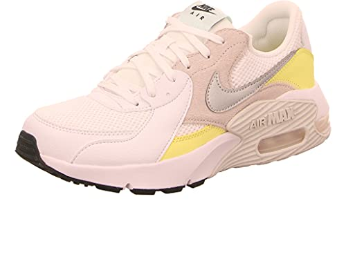 Nike Women's Air Max Excee White/Yellow/Grey (CD5432 111) - 7