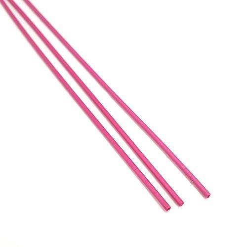 バインド線 中太品 ピンク 10cm 1000本入 果樹用 園芸用 工業用 結束線 バン線 棚線 山B 代不