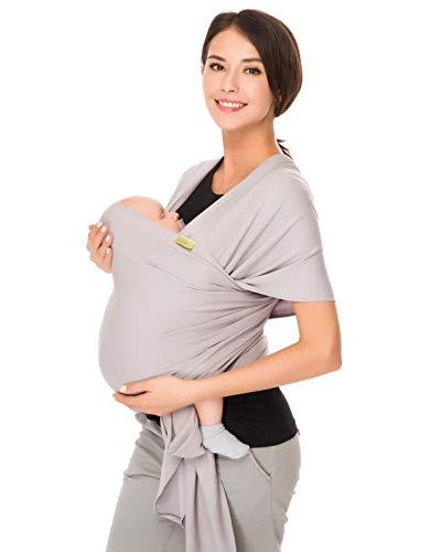 CUBY Babytragetuch Atmungsaktiv Baby Tragetuch Neugeborene...