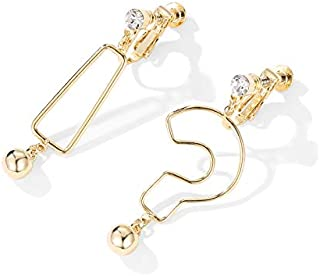 Cat/'S Eye Stone Diamond Fox Boucles D/'Oreilles Silver Needle Boucles D/'Oreilles