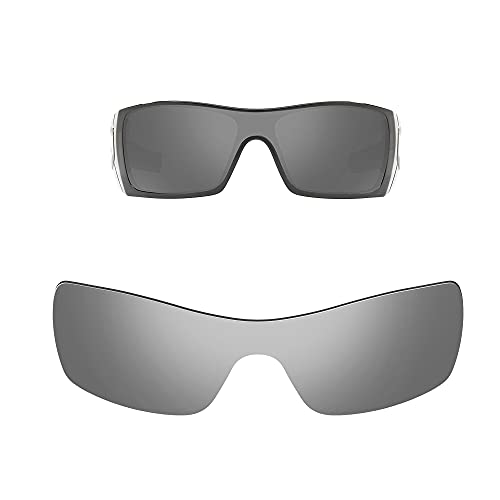 Oak&ban Lentes de repuesto polarizadas para gafas de sol Oakley Batwolf, multiopciones