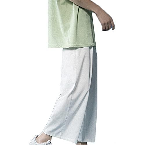 バギーパンツ 夏 イージーパンツ ゆったりパンツ メンズ ウェストゴム調節 吸汗速乾 大きサイズ ズボン 接触冷感 ストレート スエット 着心地抜群 お