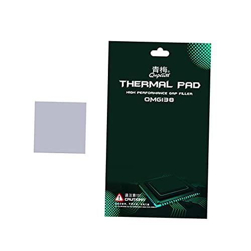 Blesiya Cuscinetto Termico CPU Cuscinetto Termico ad Alta efficienza Cuscinetto Termico GPU Dissipatore di Calore North And South Bridge Water Thermal - 30x30x2.5mm