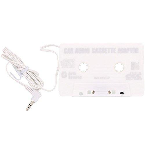 Adaptateur Cassette K7 Blanc autoradio pour IPHONE et IPOD