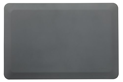Simply Perfect Anti Fatigue Mat, Standing Desk Mat for Office, Standing Mat for Kitchen, Anti Microbial Fatigue Mat, Waterproof Kitchen Mat, Canadian Made Foam Floor Mat, 0.75' Foam Mat, 24 in. x 36 in. x 3/4 in.