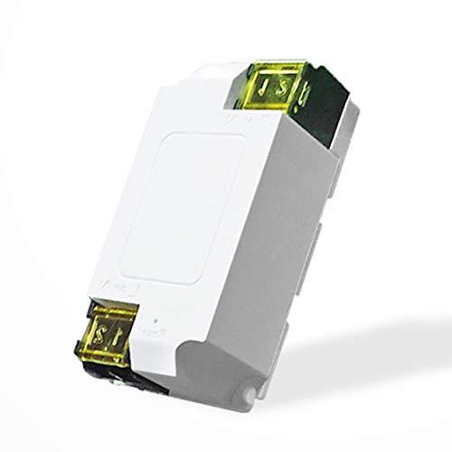 Wireless Wifi Switch Modulo Di Automazione Del Telecomando Timer Fai Da Te Universale Smart Home 15a Ac 200 240v Per Ios Android Colore Bianco