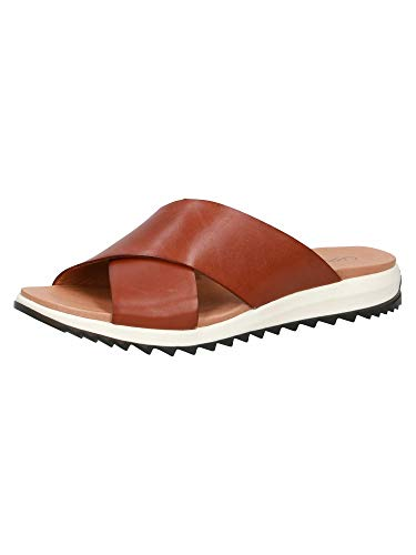 CAPRICE Damen Pantolette 9-9-27201-26 303 G-Weite Größe: 39 EU